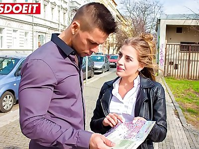 Hot Czech Teen tricks Stud into taking her home (Silvia Dellai & Angelo Godshack)