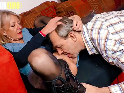 AMATEUR EURO - German Granny Margit S. Wants To Feel Women Again