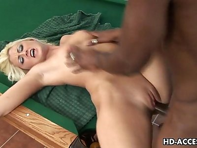 Sexy Stacy Thorn interracial with hard dick riding