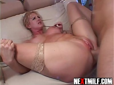 Bored Housewife Choke Fucked