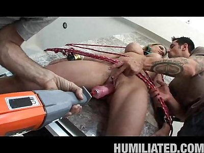 Nikki Drowns In Humiliation