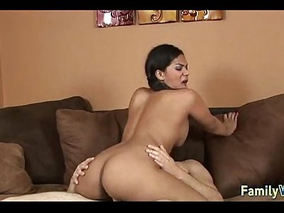 Fucked by her new stepdad 703